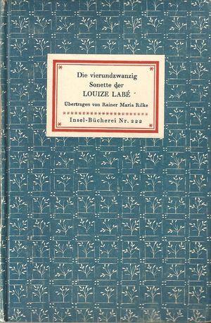 R. M. RILKE TRADUCTEUR DE LOUISE LABE, 1942. Culture et barbarie. labe2-0011